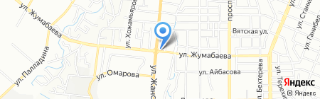 Айшат на карте Алматы