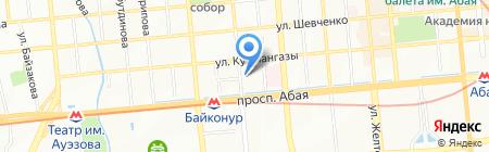 Поликлиника на карте Алматы