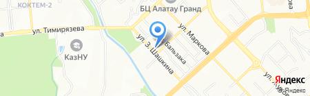 Женская консультация на карте Алматы