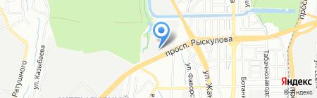 АЛМАТЫЛИФТ на карте Алматы
