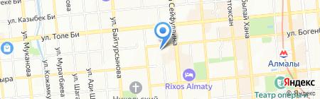 Казахский Государственный академический оркестр народных инструментов им. Курмангазы на карте Алматы