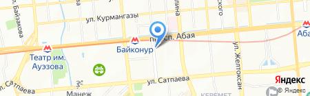 ЧоСон на карте Алматы