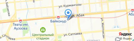 ИМАНЕЛ на карте Алматы