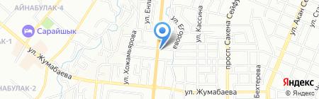 Пиала на карте Алматы