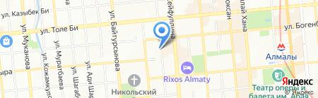 Алматытеплокоммунэнерго ТОО на карте Алматы