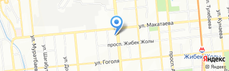 Нотариус Ажимова З.С. на карте Алматы