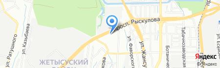 Белорусский Трикотаж на карте Алматы