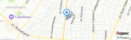 Арай продовольственный магазин на карте Алматы