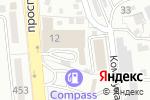 Схема проезда до компании KBS Industries в Алматы