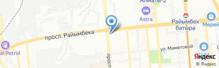 ЛАУЛА на карте Алматы