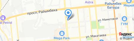 BIG Донер на карте Алматы