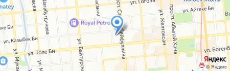 Tutsy на карте Алматы