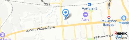 Белавто на карте Алматы