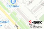 Схема проезда до компании Универсальный магазин в Аксу