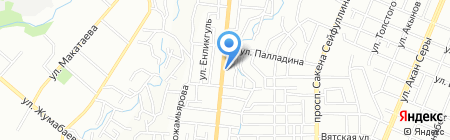 Алтын Балык на карте Алматы