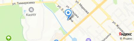 Весновка на карте Алматы