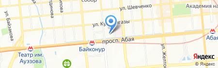 Veritas на карте Алматы