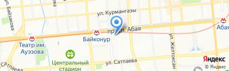 Алтын-Тас на карте Алматы