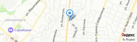 Алладин на карте Алматы