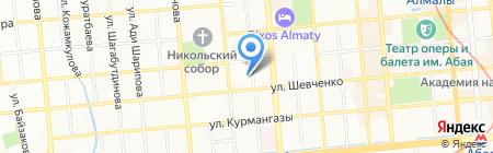 Республиканский институт повышения квалификации руководящих и научно-педагогических кадров системы образования на карте Алматы