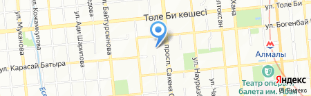 Cacadu на карте Алматы