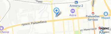 КазАвтоГаз Плюс на карте Алматы