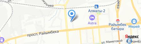 Ерик Пласт на карте Алматы