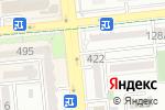 Схема проезда до компании Панда в Алматы