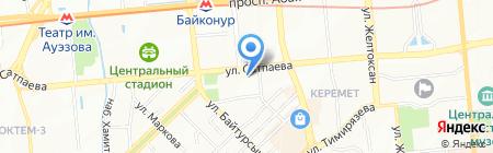 Институт экономики и бизнеса на карте Алматы
