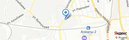 EURO AUTO SERVICE на карте Алматы