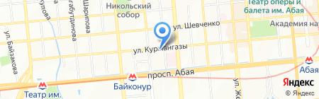 Медицинский массажный центр Сейткулова Ербола на карте Алматы