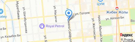 FujiFilm фотосалон на карте Алматы