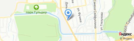 Эйфориза на карте Алматы