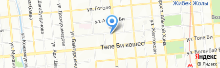 TURMEDA на карте Алматы