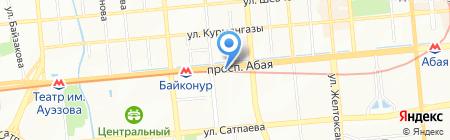 Книжный мир семьи на карте Алматы