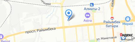 Оазис на карте Алматы