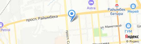 Синергия Московский финансово-промышленный университет на карте Алматы