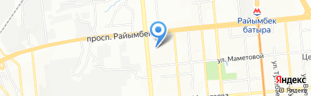 Violet Travel на карте Алматы