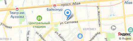Airarabia на карте Алматы