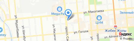 БРОКЕР ПЛЮС на карте Алматы