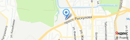 Вира Проект ЛТД ТОО на карте Алматы