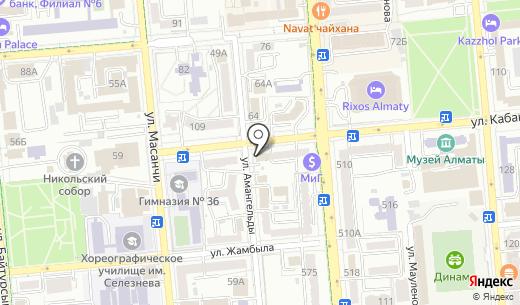 Алматы марафон. Схема проезда в Алматы
