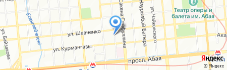 Камерата Казахстана на карте Алматы