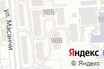 Схема проезда до компании Умный Кит в Алматы