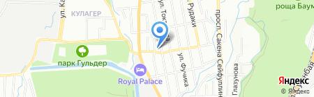 Rodos Grand на карте Алматы