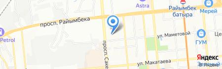 Мастерская праздников Виктории Духно на карте Алматы