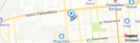 Алем-Контракт ЛТД на карте Алматы