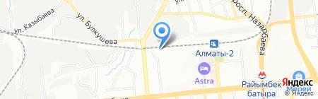 АБДИ КМ на карте Алматы