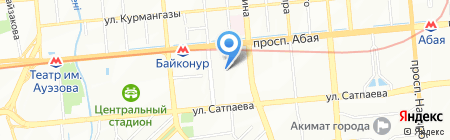 Рафаэль на карте Алматы