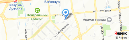 UGS на карте Алматы